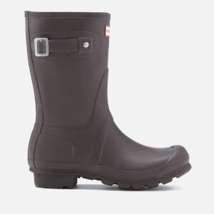 Hunter Women's Original Short Wellies - Bitter Chocolate