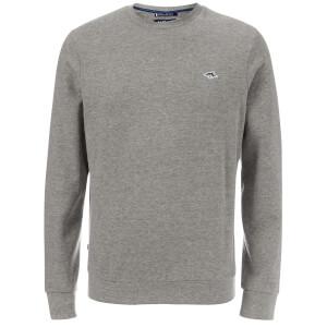 Le Shark Men's Lockmead Sweatshirt - Light Grey Marl