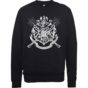 Harry Potter Draco Dormiens Nunquam Titillandus Black Sweatshirt
