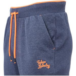 Tokyo Laundry Men's Western Sweatpants - Mood Indigo Marl: Image 3
