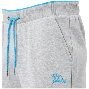 Tokyo Laundry Men's Western Sweatpants - Light Grey Marl: Image 3