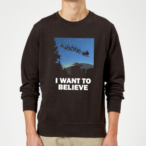 I Want To Believe Sweatshirt - Black