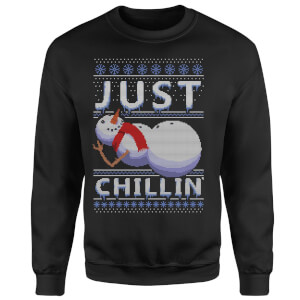 Just Chillin Sweatshirt - Black