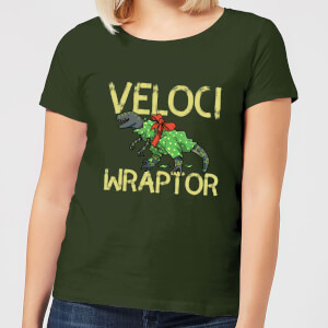 Veloci Wraptor Women's T-Shirt - Forest Green