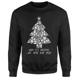 Dead Inside Sweatshirt - Black