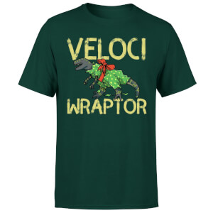 Veloci Wraptor T-Shirt - Forest Green