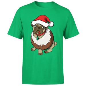Christmas Puggin T-Shirt - Kelly Green
