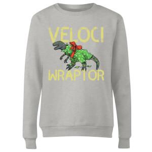 Veloci Wraptor Women's Sweatshirt - Grey
