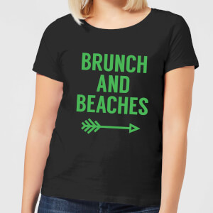 Brunch and Beaches Women's T-Shirt - Black