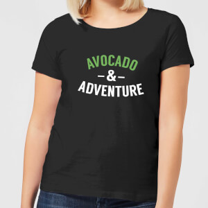 Avocado and Adventure Women's T-Shirt - Black