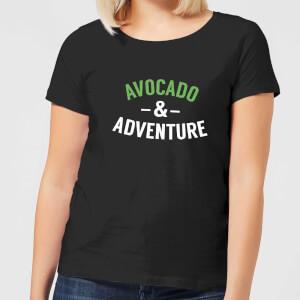 Avocado and Adventure Women's T-Shirt - Black