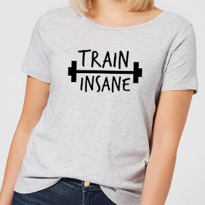Train Insane Women's T-Shirt - Grau