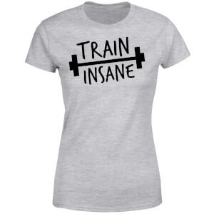 Train Insane Women's T-Shirt - Grey