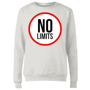 No Limits Women's Sweatshirt - White