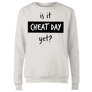 Is it Cheat Day Women's Sweatshirt - White