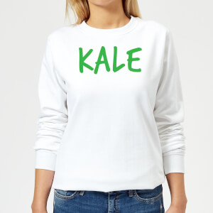 Kale Women's Sweatshirt - White