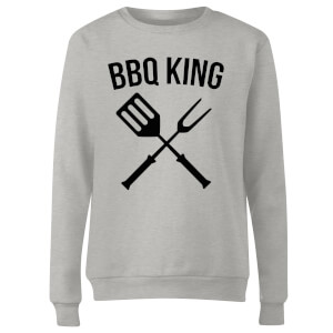 BBQ King Women's Sweatshirt - Grey