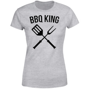 BBQ King Women's T-Shirt - Grey