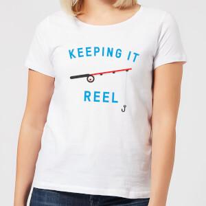 Keeping it Reel Women's T-Shirt - White