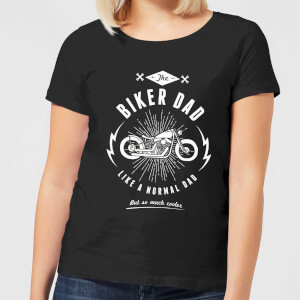Biker Dad Women's T-Shirt - Black