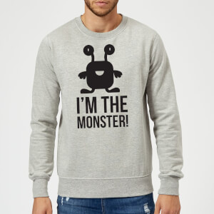 I'm the Monster Sweatshirt - Grey