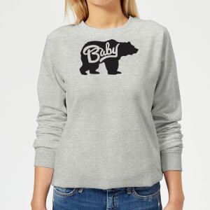 Baby Bear Women's Sweatshirt - Grey