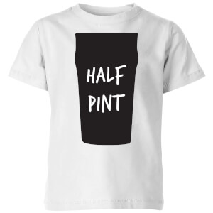 My Little Rascal Half Pint Kids' T-Shirt - White