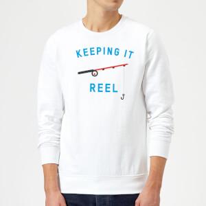Keeping it Reel Sweatshirt - White