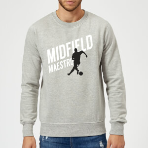 Midfield Maestro Sweatshirt - Grey
