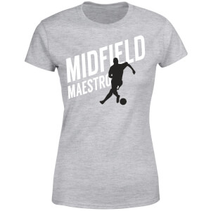 Midfield Maestro Women's T-Shirt - Grey