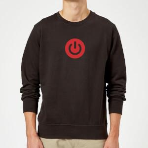 Power On Sweatshirt - Black