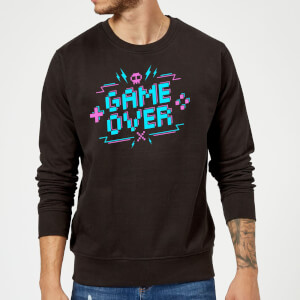 Game Over Gaming Sweatshirt - Black