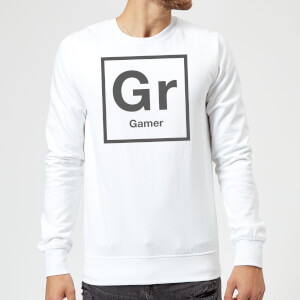 Periodic Gamer Sweatshirt - White