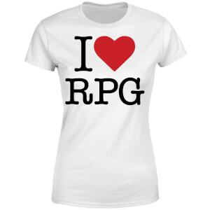 I Love RPG Women's T-Shirt - White
