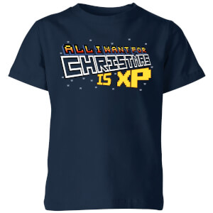 All I Want For Xmas Is XP Kids' T-Shirt - Navy