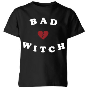 Bad Witch Kids' T-Shirt - Black