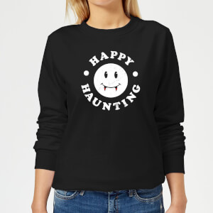 Happy Haunting Women's Sweatshirt - Black