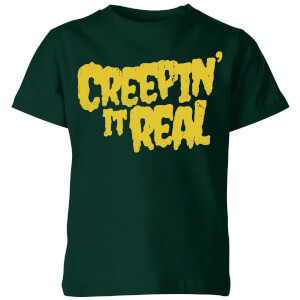 Creepin it Real Kids' T-Shirt - Forest Green