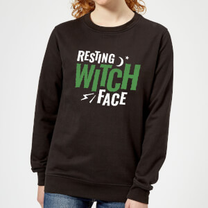 Resting Witch Face Women's Sweatshirt - Black