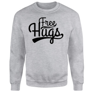 Free Hugs Sweatshirt - Grey