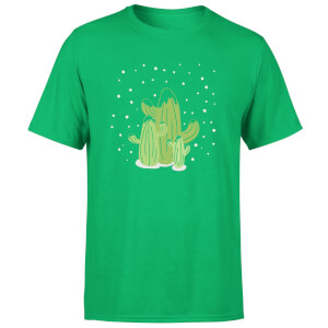 Cactus trio T-Shirt - Kelly Green