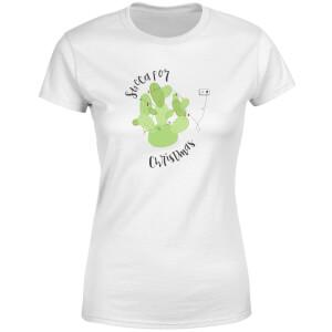 Succa For Christmas Women's T-Shirt - White