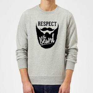 Respect the Beard Sweatshirt - Grey