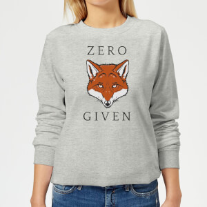 Zero Fox Given Women's Sweatshirt - Grey