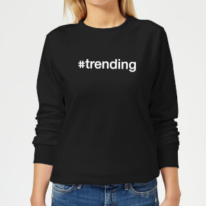 trending Women's Sweatshirt - Black