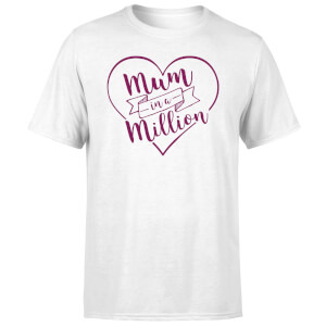 Mum in a Million T-Shirt - White