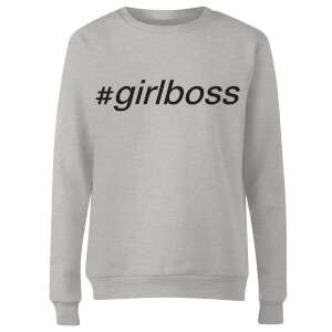 girlboss Women's Sweatshirt - Grey