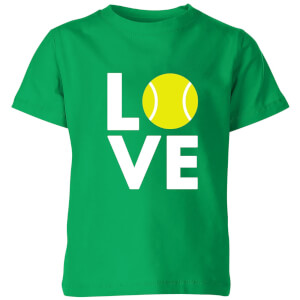 Love Tennis Kids' T-Shirt - Kelly Green