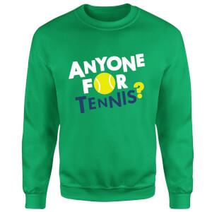 Anyone for Tennis Sweatshirt - Kelly Green