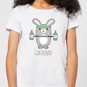 Gin Bunny Women's T-Shirt - White